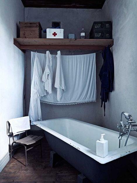 Фотография: Ванная в стиле Лофт, Декор интерьера, Дом, Дома и квартиры – фото на InMyRoom.ru