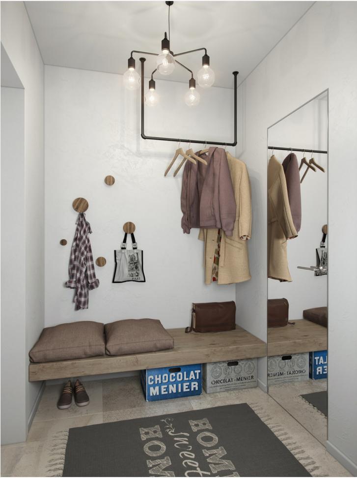 Фотография:  в стиле , Квартира, Студия, Проект недели, Алена Тимонина, Андрей Тимонин – фото на InMyRoom.ru