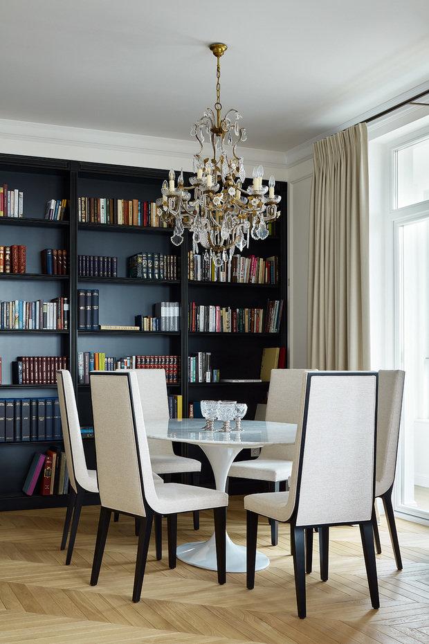 Фото из портфолио Квартира c китайской ширмой – фотографии дизайна интерьеров на INMYROOM