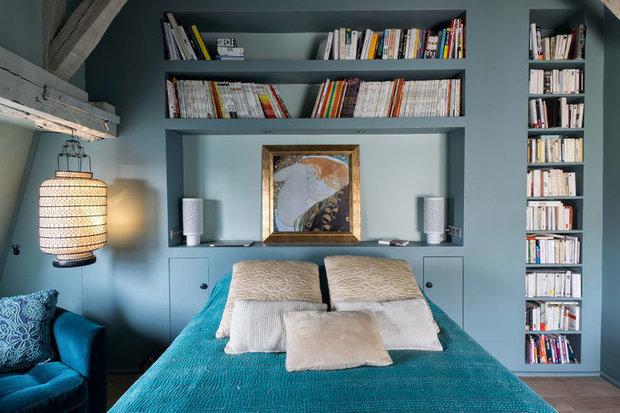 Фотография: Спальня в стиле Скандинавский, Советы, хранение вещей – фото на InMyRoom.ru