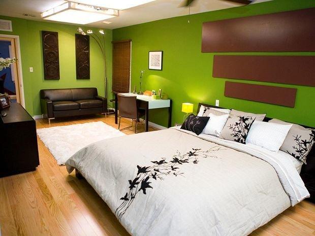 Фотография: Спальня в стиле Современный, Восточный, Декор интерьера, Квартира, Дом, Декор, Зеленый – фото на INMYROOM
