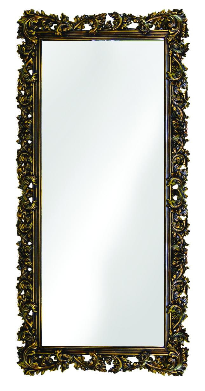 Купить Напольное зеркало в резном багете венге золото, inmyroom