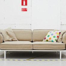 Фотография: Гостиная в стиле Кантри, Лофт, Скандинавский, Декор интерьера, DIY, Мебель и свет, IKEA – фото на InMyRoom.ru