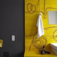Фотография: Ванная в стиле Современный, Дома и квартиры, Городские места, Отель, Проект недели, Хостел – фото на InMyRoom.ru