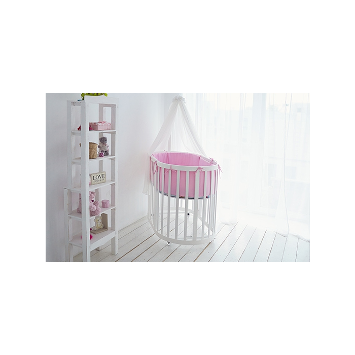 Детская кроватка-трансформер Ellipsebed