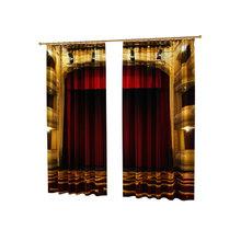 Дизайнерские фотошторы: Театральный занавес