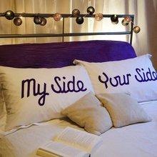 Фотография: Спальня в стиле Скандинавский, Декор интерьера, Декор дома, Подушки – фото на InMyRoom.ru
