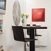 Фотография: Кухня и столовая в стиле Скандинавский, Современный, Эклектика, Малогабаритная квартира, Квартира, Швеция, Дома и квартиры – фото на InMyRoom.ru