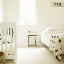 Фотография: Детская в стиле Скандинавский, Интерьер комнат – фото на InMyRoom.ru