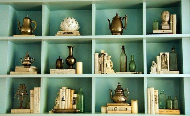 Фотография: Прочее в стиле , Декор интерьера, Декор дома, Стеллаж, Полки, Домашняя библиотека – фото на InMyRoom.ru