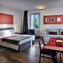 Фотография: Спальня в стиле Современный, Минимализм, Италия, Дома и квартиры, Городские места, Отель – фото на InMyRoom.ru