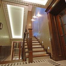Фото из портфолио Реализованный проект интерьеров загородного дома – фотографии дизайна интерьеров на INMYROOM
