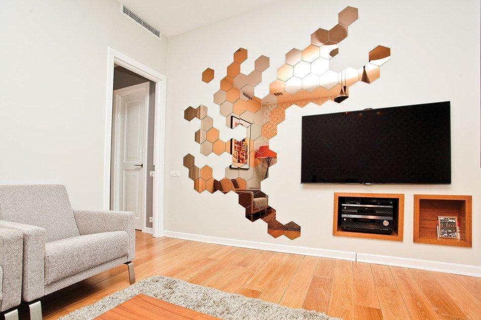 Футуристические элементы в небольших квартирах