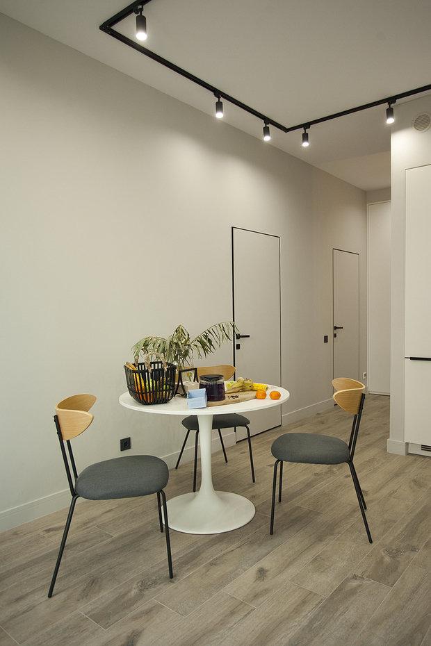 Фотография: Кухня и столовая в стиле Современный, Квартира, Проект недели, Москва, 1 комната, 40-60 метров, Аделина Шарапова – фото на INMYROOM