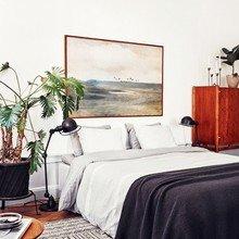 Фото из портфолио Стильная мужская спальня – фотографии дизайна интерьеров на INMYROOM