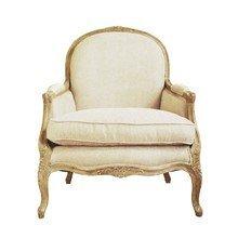 Винтажное мягкое кресло Прованс