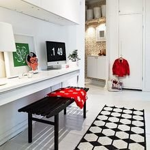 Фотография: Кабинет в стиле Скандинавский, Прихожая, Декор интерьера, Малогабаритная квартира, Квартира, Дом – фото на InMyRoom.ru