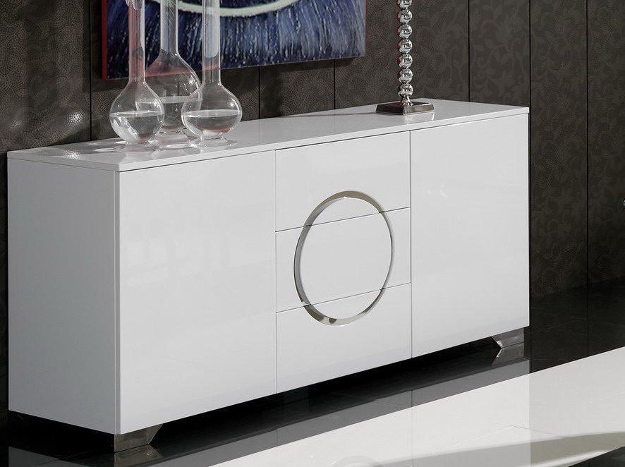Купить Буфет Dupen белый с дверцами и ящиками, inmyroom, Испания