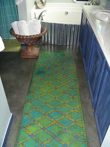 Фотография: Кухня и столовая в стиле Лофт, Декор интерьера, Декор дома, Пол – фото на InMyRoom.ru