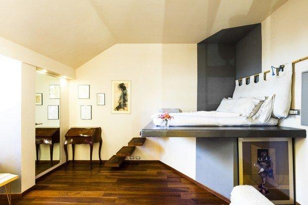 Фотография: Спальня в стиле Современный, Минимализм, Декор интерьера, Малогабаритная квартира, Квартира, Студия, 1 комната, до 40 метров, 40-60 метров – фото на INMYROOM