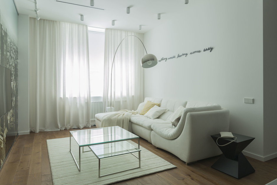 Фотография:  в стиле , Современный, Квартира, Проект недели – фото на InMyRoom.ru