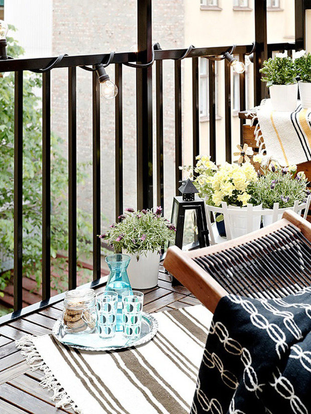 Фотография: Прочее в стиле , Балкон, Интерьер комнат, специальная тема: балконы – фото на InMyRoom.ru