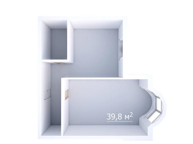Фотография: Прочее в стиле , Квартира, Планировки, Дома и квартиры, Перепланировка, Панельный дом, И-155, 1 комната, до 40 метров – фото на InMyRoom.ru