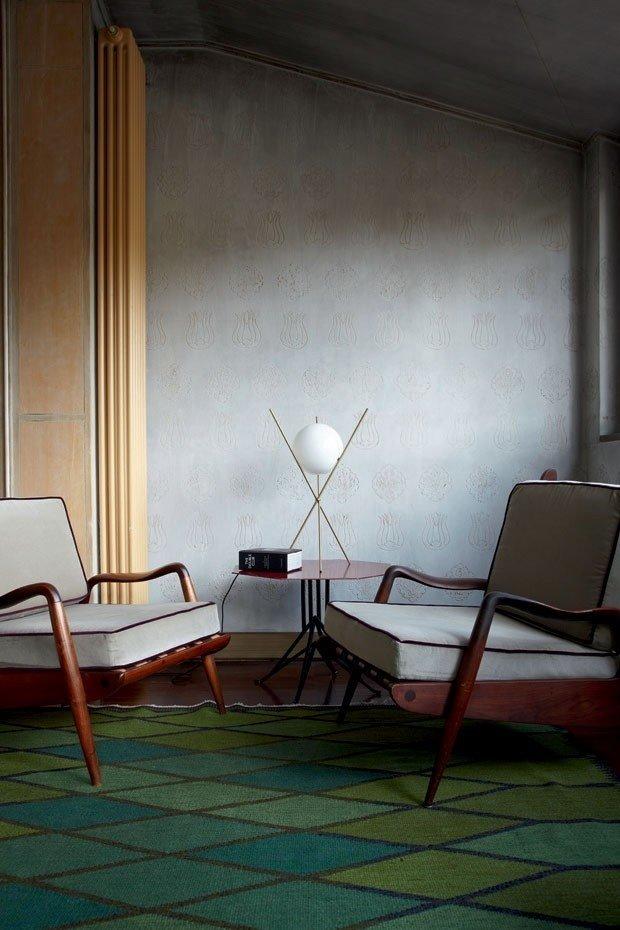 Фотография: Мебель и свет в стиле Лофт, Скандинавский, Декор интерьера, Дизайн интерьера, Цвет в интерьере – фото на InMyRoom.ru