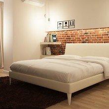 Фотография: Спальня в стиле Лофт, Декор интерьера, Малогабаритная квартира, Советы – фото на InMyRoom.ru