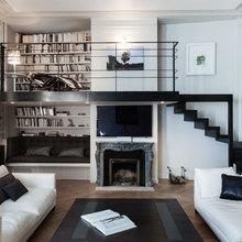 Фотография: Гостиная в стиле Современный, Квартира, Дома и квартиры, Париж – фото на InMyRoom.ru