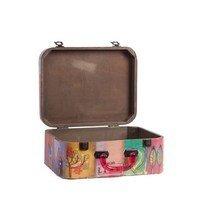 Декоративный чемодан с акриловыми ручками Arcobaleno Grande