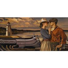 Картина (репродукция, постер): Lakeside romance - Перегрин Хиткоут