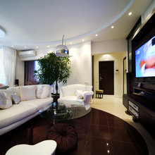 Фото из портфолио Квартира в Москве. Гостиная. – фотографии дизайна интерьеров на INMYROOM
