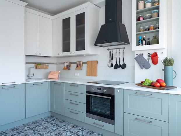 Фотография: Кухня и столовая в стиле Скандинавский, Советы, Blanko, мойка, кухонная мойка, смеситель, смеситель на кухню – фото на INMYROOM