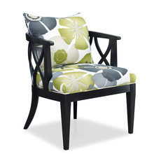 Кресло Verona (Ткань, Дерево, 2198 Charcoal)