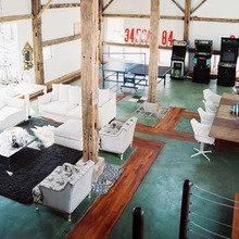 Фотография: Прочее в стиле Эклектика, Дизайн интерьера, Цвет в интерьере, Пол, Индустриальный – фото на InMyRoom.ru