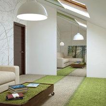 Фото из портфолио Чертовицы. Мансарда – фотографии дизайна интерьеров на INMYROOM