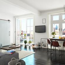 Фото из портфолио Светлая квартира – фотографии дизайна интерьеров на InMyRoom.ru
