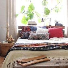 Фотография: Спальня в стиле Скандинавский, Декор интерьера, Подоконник – фото на InMyRoom.ru