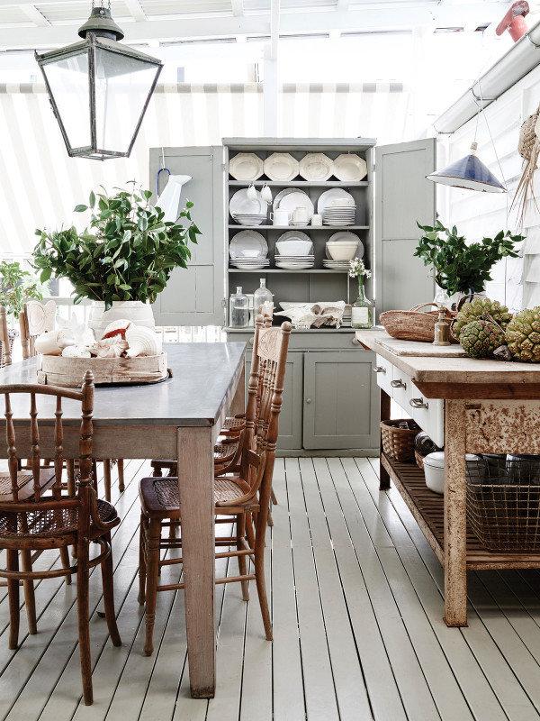Фотография: Кухня и столовая в стиле Кантри, Декор интерьера, Дом, Австралия, Дом и дача – фото на InMyRoom.ru