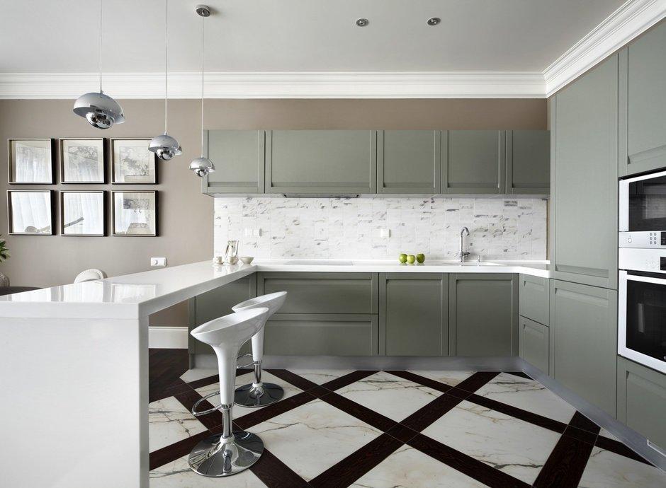 Фотография: Кухня и столовая в стиле Современный, Квартира, Текстиль, Дома и квартиры – фото на InMyRoom.ru