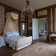 Фотография: Спальня в стиле Классический, Дом, Дома и квартиры, Камин, Свечи – фото на InMyRoom.ru