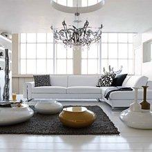 Фотография: Гостиная в стиле Современный, Цвет в интерьере, Стиль жизни, Советы, Белый – фото на InMyRoom.ru