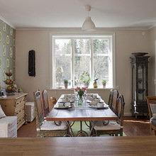 Фотография: Кухня и столовая в стиле Кантри, Лофт, Эклектика, Декор интерьера, Швеция, Декор дома, Советы, Шебби-шик – фото на InMyRoom.ru