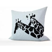 Декоративная подушка: Друзья жирафы