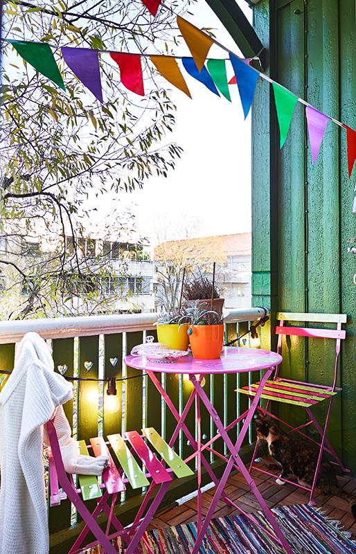 Фотография: Балкон, Терраса в стиле , Скандинавский, Малогабаритная квартира, Квартира, Дома и квартиры – фото на InMyRoom.ru