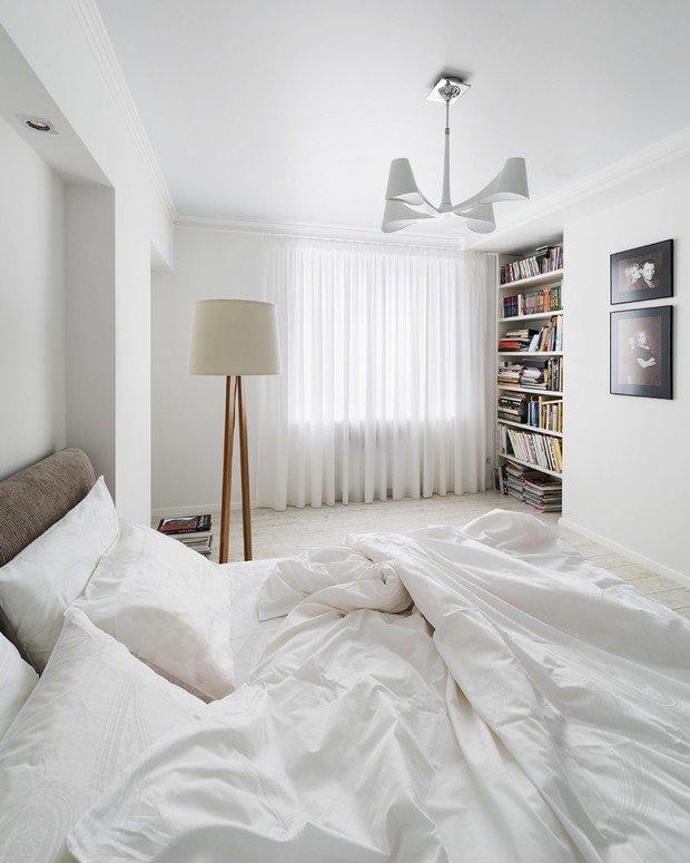 Фотография: Спальня в стиле Скандинавский, Декор интерьера, Декор дома, Картины – фото на InMyRoom.ru