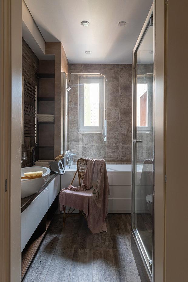 Фото из портфолио 3-х комнатная квартира мкр. «Солнечный берег» – фотографии дизайна интерьеров на INMYROOM
