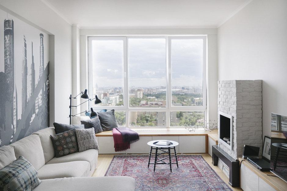 Фотография:  в стиле , Квартира, Проект недели, Москва, Герой InMyRoom, Монолитный дом, 3 комнаты, 60-90 метров, ЖК «Аэробус» – фото на InMyRoom.ru