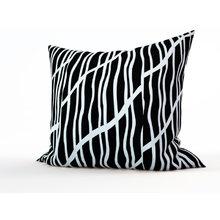 Дизайнерская подушка: Монохромный лес